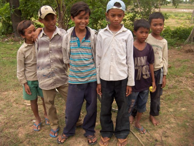 Children from Hopeful Children Center