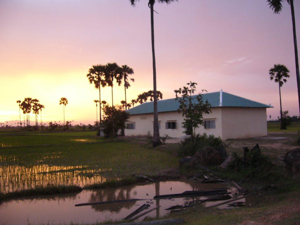 Juli 2008, school/tehuis is gereed