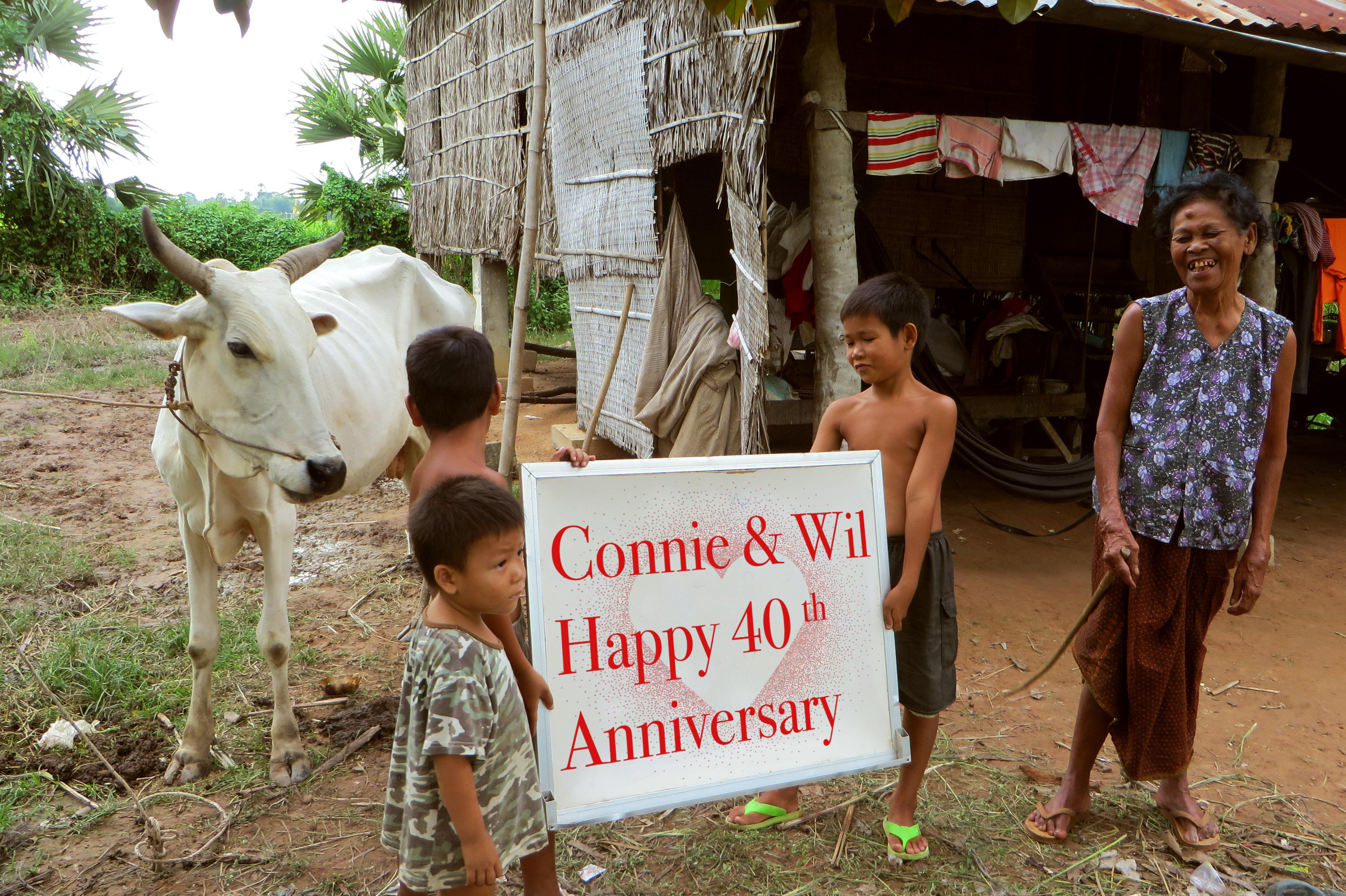 Connie & Wil 40 jaar